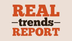 Real Trends Report Logo Inspiration. #Vancouver #Real #Estate #Design #Branding #Website #Brokerage #REMAX #Package #Buyers #Sellers