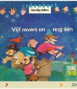 Zwijsen Ouders - Digitaal prentenboek getalbegrip 'Vijf rovers en nog een'