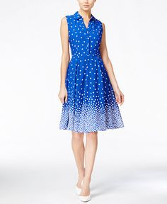Maison Jules Polka-Dot Shirtdress, $80 Macy's