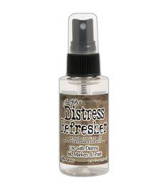 Rehydrate and condition your Distress products with the Ranger® Tim Holtz® Distress 1.9oz Refresher. This unique product is designed to bring dried water-based ink pads, markers and paints back to lif