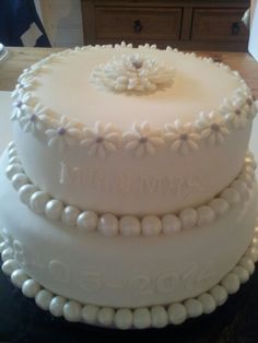 Eerste Bruidstaart :-)