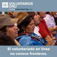 Para ser voluntario solo se necesita un conexión de Internet confiable. Para tener voluntarios en una ONG, solo necesita unirse a UNVolunteers