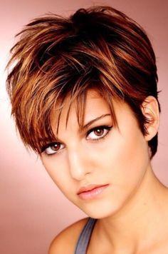 Color & Cut. Short hair cuts for women.