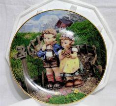 M.I. Hummel Country Crossroads Colletor Plate, Little Companions by Danbury Mint