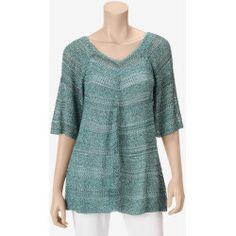MI-136504-PTRN01-A%3F%24zm%24 Best Deal It's Our Time Open Weave Pullover Sweater  Misses  Blue  M  US Sweaters