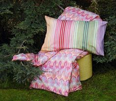 The Pizzo pattern by MissoniHome is sweet and sassy.