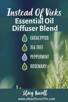 Try this blend of oils in your diffuser, roller bottle with coconut oil, or blank inhaler to help give you relief from congestion. You may have to play around with the exact drops of each until you get just the right combination of oils for you. Top Essential Oils, Essential Oil Diffuser Blends, Young Living Essential Oils, Essential Oils For Congestion, Essential Oil Inhaler, Diy Diffuser Oil, Stuffy Nose Essential Oils, Essential Oil Blends For Colds, Essential Oils Allergies