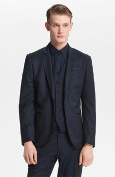 Topman 'Bogart' Skinny One Button Blazer available at Nordstrom.  For the Lad.