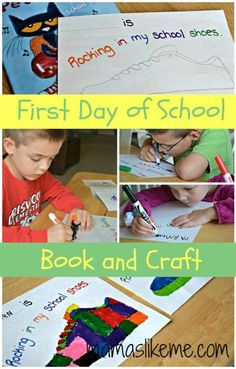 Mamas Like Me: First Day of School Craft