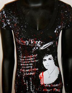 DiY Sweeney Todd Mrs. Lovett Top Tim Burton You choose the size. $22.00, via Etsy. (I need it :) )