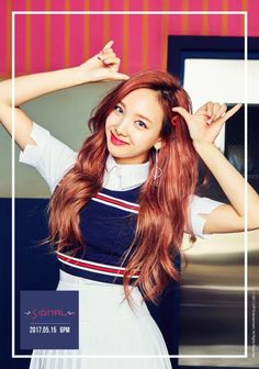 Nayeon is a South Korean singer and a member of multi-national K-pop girl group Twice formed by JYP Entertainment in Details Active Since: 2015 Birth Name Kpop Girl Groups, Korean Girl Groups, Kpop Girls, K Pop, Signal Twice, Twice Album, Sana Momo, Chaeyoung Twice, Twice Once