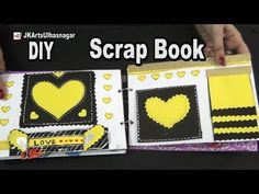 How to make a Scrapbook | 12 Greeting cards Scrapbook | Valentine's Day Gift Idea | JK Arts 984 - YouTube