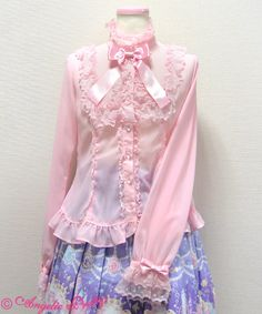 Angelic Pretty Aqua Dollブラウス
