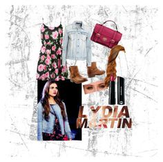 Lydia Martin- Teen Wolf by movielooks on Polyvore featuring BLK DNM, Ash, Bare Escentuals and SCARLETT