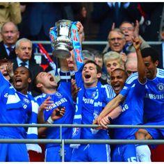 Chelsea FC 2012 FA Cup Champion