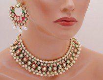 Goldpolih fusicha pink, green and white set-1881