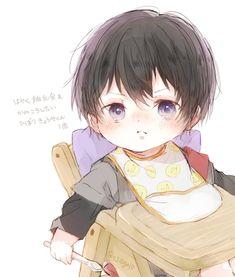 Anime Chibi, Kawaii Chibi, Chica Anime Manga, Kawaii Anime, Bebe Anime, Jiraiya Y Naruto, Anime Dad, Familia Anime, Anime Family