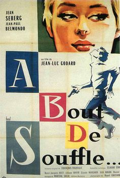 Breathless aka À bout de souffle film) with Jean-Paul Belmondo and Jean Seberg. Jean Seberg, Hd Movies, Movies Online, Movie Tv, King Kong, Martial, Movies To Watch Now, Watch Netflix, Claude Chabrol