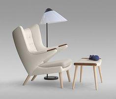 Teddy Bear Chair by Hans J. Wegner for PP Møbler
