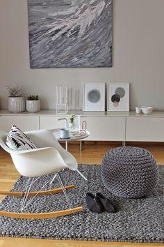Inspiración: Eames Rocking Chair | CocoChic&Deco #LIVE #LOVE