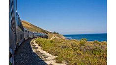 "Sit back and enjoy the views. The ""Amtrak Coast Starlight delivers stunning vistas"" - Pittsburgh Post-Gazette"
