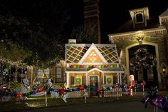 Life-Size Gingerbread House by cybertoad, via Flickr -- love the idea of decorating our home outside like a gingerbread house!!!!! (Pin is not quite that)