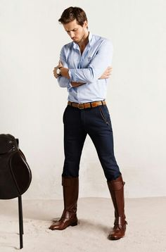 Gucci Brogue Riding Boots in Brown for Men | Men's Fashion that I ...