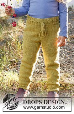 Knitting Patterns Free, Free Knitting, Baby Knitting, Free Pattern, Knitting For Kids, Crochet For Kids, Drops Design, Crochet Crafts, Knit Crochet