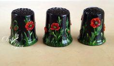 #oxigra #naparstki #recznie #malowane #kolekcjonerskie #3d #thimbles #handpainted #collectibles #handmade #ornament #decorative
