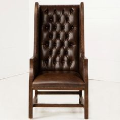 Shop Urban Farmhouse Designs for stylish Accent Chairs to match your unique tastes and budget. High Back Armchair, High Back Chairs, Urban Farmhouse Designs, Farmhouse Style Furniture, Deconstruction, Solid Wood, Accent Chairs, Leather, Burlap