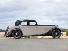 Park Ward Bentley 3 1-2L Sports Saloon 1935 B109CW