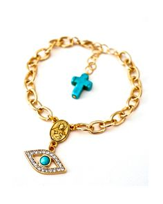 All-Seeing Eye Rosary Bracelet