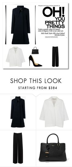 """TRIANGULO NEGRO"" by aguiar-pilutti on Polyvore featuring moda, Chloé, Balenciaga, Alexander McQueen, DKNY y Christian Louboutin"