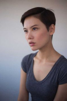Chic & Lovely Asian Pixie Cut Pics //  #Asian #Chic #lovely #Pics #pixie