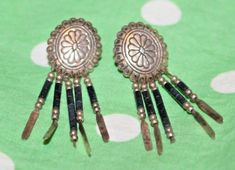 Vintage Sterling Silver Turquoise Southwest Earrings for sale online Turquoise, Jewelry Watches, Hair Accessories, Vintage, Sterling Silver, Ebay, Earrings, Stud Earrings, Green Turquoise