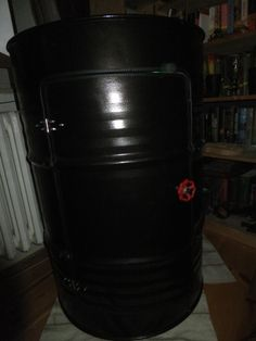 Altes Ölfass als Regal umgebaut DIY upcycling