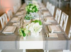 Modern Green Gray Tabletop | photography by http://tanjalippertphotography.com/
