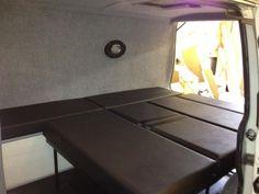 vw t5 camper full width bed - Google Search