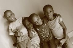 This are shots of beautiful Angels in Africa.See how cute they are.