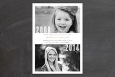 "This ""Then & Now"" graduation announcement tugs at the heart strings! Love it!! *Now through 3/30/14, you can win $150 to spend where these announcements are sold. Giveaway details are in the post. #graduation #cards #giveaway #harvardhomemaker"