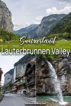 Lauterbrunnen in Switzerland is a fantastic base for travel to the Swiss Alps. With beautiful scenery and easy access to mountains and sights read this travel guide for the top sights in Lauterbrunnen and nearby Meiringen. Adelboden, Europe Travel Tips, Travel Guides, Travel Destinations, Amazing Destinations, Zermatt, European Destination, European Travel, Bern
