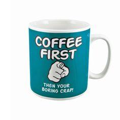 My faceci lubimy wielkie kubki ze śmiesznymi tekstami jeszcze bardziej. 900 ml kawa to marzenie nie jednego chłopaka;) Teraz ten prezent jest dostępny!  http://www.godstoys.pl/prezenty-dla-mezczyzn  #gadgets #mugs