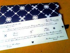 Convite de Casamento Renata