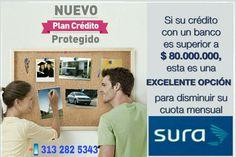 Este seguro de vida #CreditoProtegido respalda un préstamo bancario, con intereses mucho más bajos que los bancos!