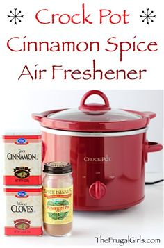 Fill your home with Cinnamon and Spice with this natural DIY Cinnamon Air Freshener! Let it simmer in your Crock Pot at holidays or when guests come over! Homemade Potpourri, Simmering Potpourri, Stove Top Potpourri, Potpourri Recipes, Fall Potpourri, Homemade Air Freshener, Natural Air Freshener, Diy Air Fresheners, Room Scents