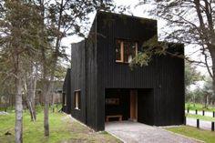 Top 10: Black Houses