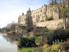 Warwick Castle taken from the Mill garden. Harry decided we needed a walk after working with the chef.  Hope you have arrived safely.