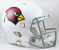 Arizona Cardinals Riddell Authentic Speed Helmet