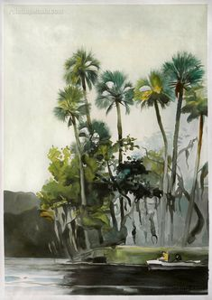 Homosassa River - Winslow Homer Paintings