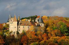 Château de la Rochepot, Burgundy, France